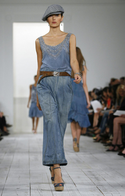 New York Fashion Show: Ralph Lauren Spring 2010