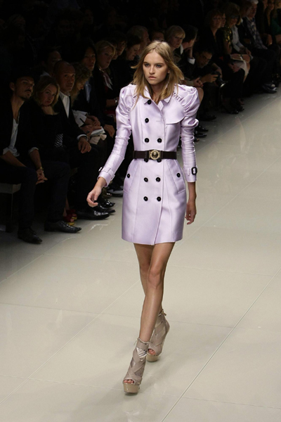 London Fashion Week: Burberry Prorsum 2010 Spring/Summer