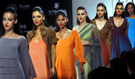 Lakme India Fashion Week in Mumbai