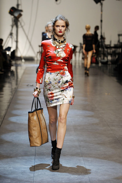Dolce & Gabbana Spring/Summer 2010 women's collection