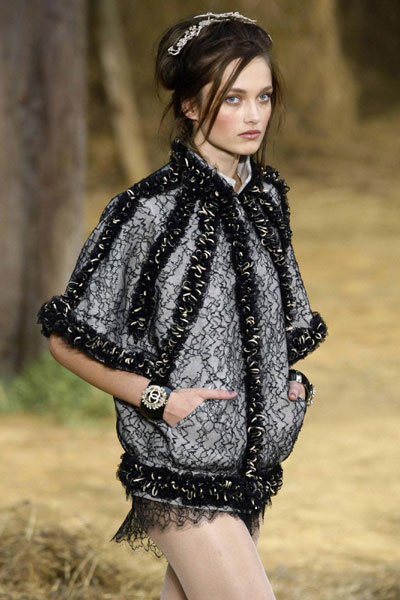 Karl Lagerfeld For French Fashion House Chanel At Spring Summer 2010