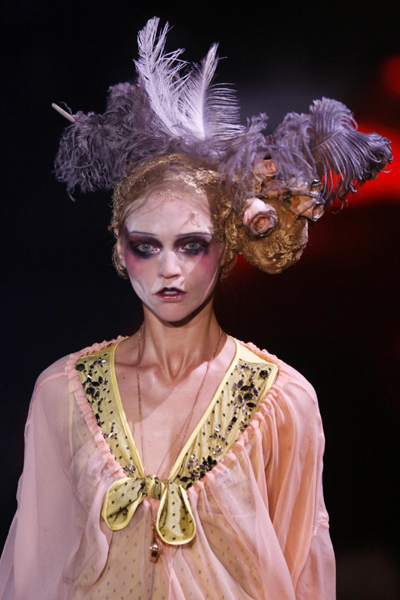 Paris Fashion Week John Galliano Spring Summer 2010
