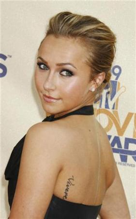 Celebrity Tattoos on Celebrity Tattoos