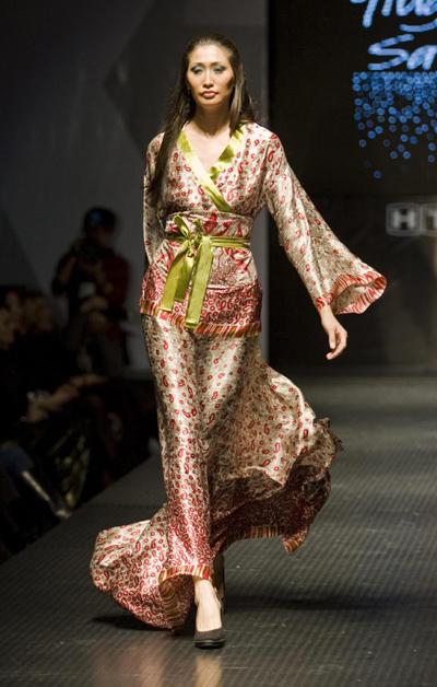 Fashion model dress