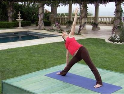 Prenatal yoga: pregnant poses, great expectations