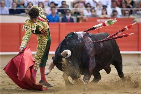 Ban on bullfighting in Catalonia