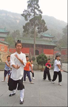 The way to Wudang