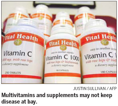 Vitamins do little to lower type 2 diabetes risk
