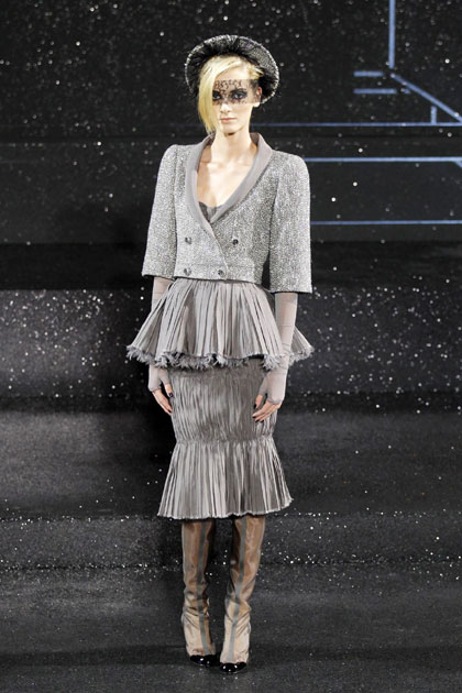 French fashion house Chanel Haute Couture Fall-Winter 2011 ...