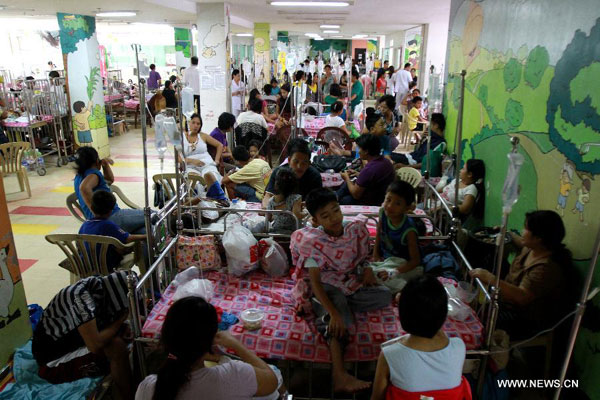 a study of the impact of dengue cases in the philippines Socio-cultural and environmental factors –a case study of delhi  dengue epidemics in the philippines and thailand, but today  dengue cases which were recorded .