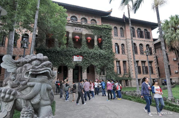 Western old buildings preserved in Fuzhou city
