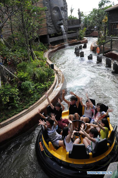HK Ocean Park Awarded As World Best Theme Parkchinadailycomcn - The 14 best theme parks in the world