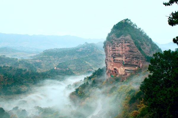 麦积山水库 – Maijishan Heavenly Grotto