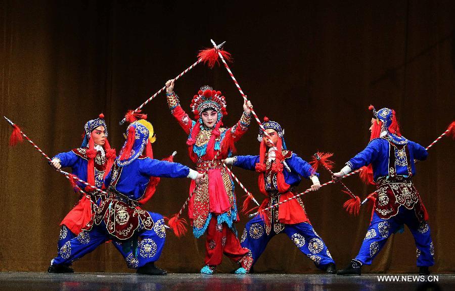 Beijing Opera Performed In Algeria For Celebration 1