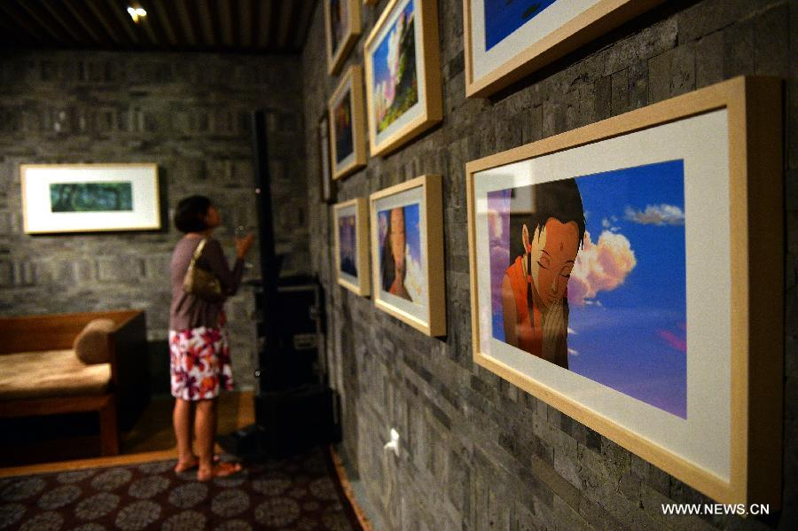 D Rendering Exhibition : Rendering of the dreams jinsha on exhibition