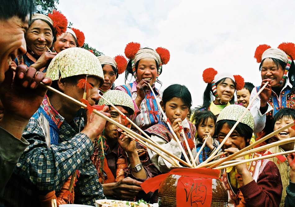 Dabaiyi Wedding Ceremony In Chinas Yunnan