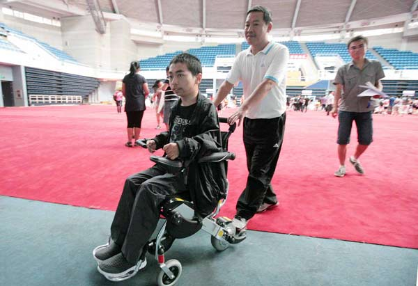 Disability no barrier to can-do spirit