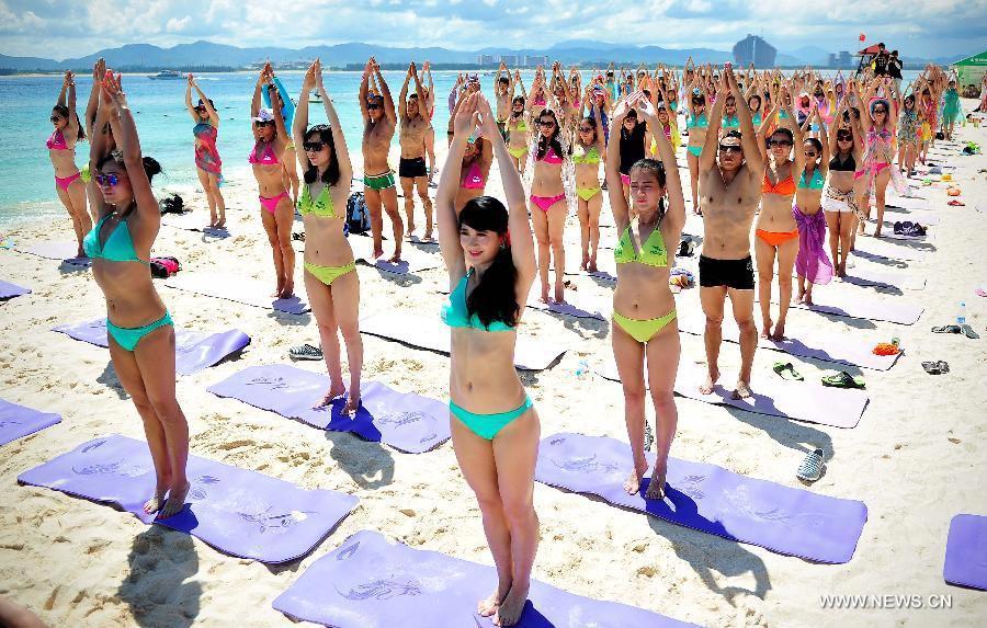 Highlights of Hainan's bikini festival[5]- Chinadaily.com.cn