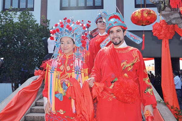 Chinese Wedding Global Love1 Chinadailycn
