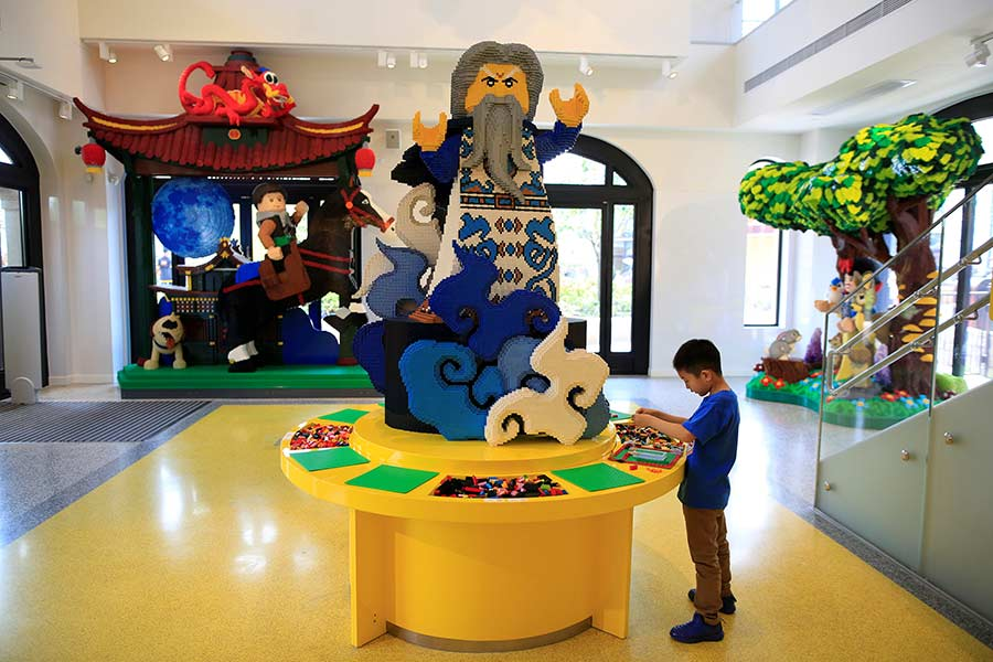 Lego opens world's largest store at Shanghai Disney[4]- Chinadaily ...