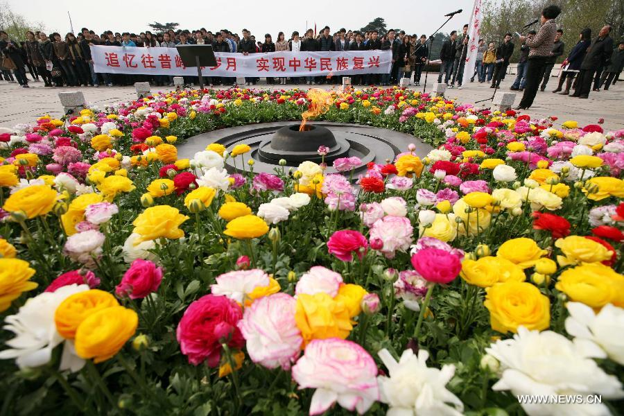 Qingming Festival Marked Around China Qingming Festival