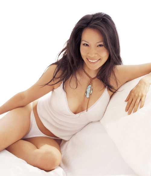 Lucy liu returns to china for aids film