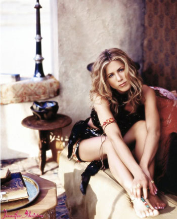 Aniston tops most perfect legs list
