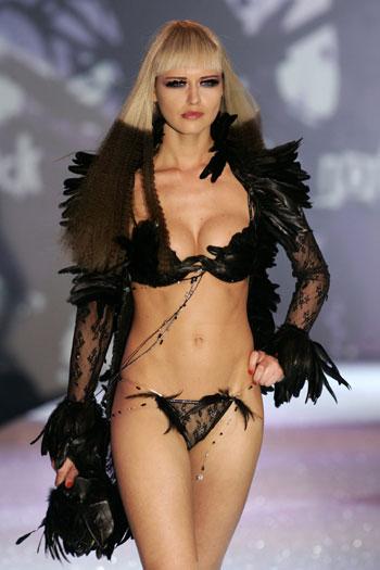 Supermodel-Lingerie
