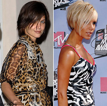 They are latest trend and fashion among the teenage girls. EMO hairstyles