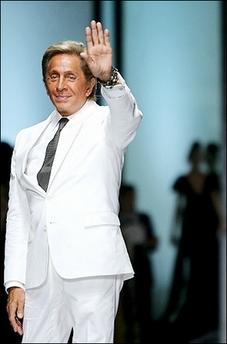 Italian fashion designer Valentino seen being presented ...  Valentino Designer