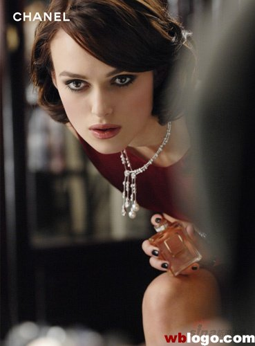 Keira Knightley is the face of Chanel. In 2006 she signed a £600000 deal to
