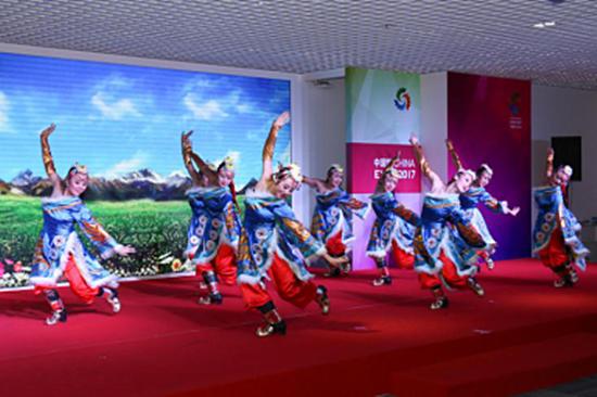 世博陇风起;煌煌丝路行;阿斯塔纳世博会中国馆甘肃活动日举行