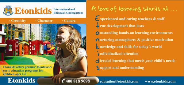Etonkids Montessori Teacher Training Academy