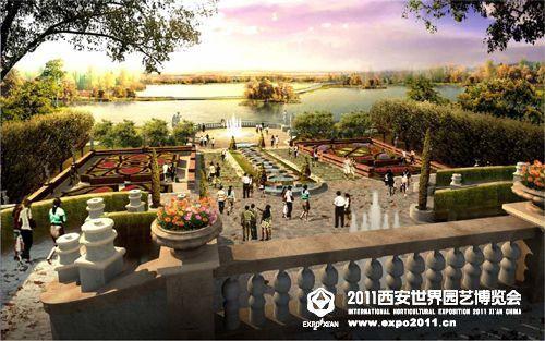 World garden - Lay outs garden terrace ...
