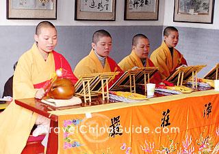 Xi'an attractions: Big Wild Goose Pagoda