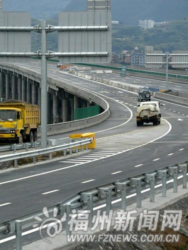 福银高速福州南连接线12日通车 南大门增新通道