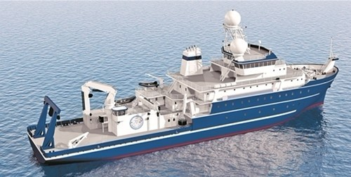 ity begins construction on 3,000-ton research vessel
