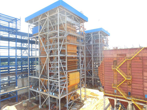 Coal-fired Power Station in Indonesia passed the Boiler Hydraulic Test