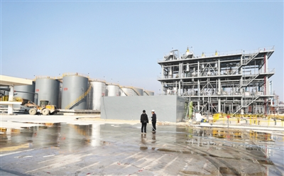 Zhanjiang lubricant blending project turns waste into wealth
