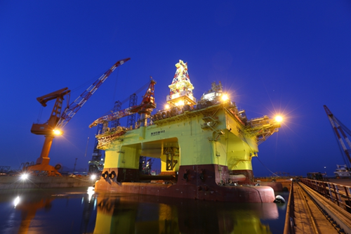 Another drilling platform takes root in Zhanjiang