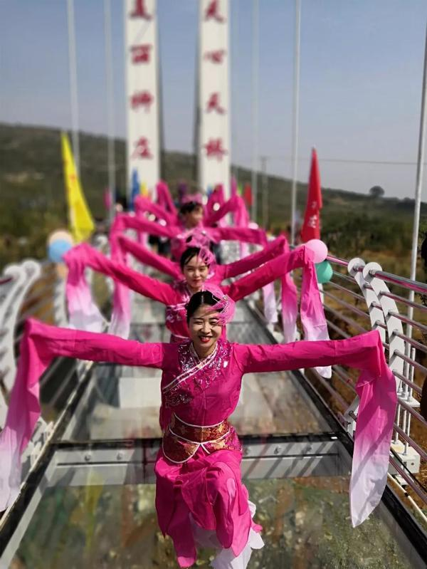 Sanmenxia builds first glass suspension bridge