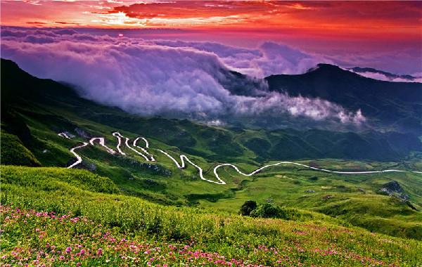 Jiucaiping Scenic Spot
