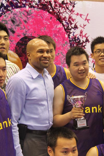 Derek Fisher on Derek Fisher Witnesses Romantic Proposal In Hangzhou