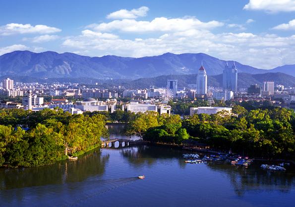 Vista del Lago Oeste en Hangzhou, China - Foto: Ayuntamiento Hangzhou