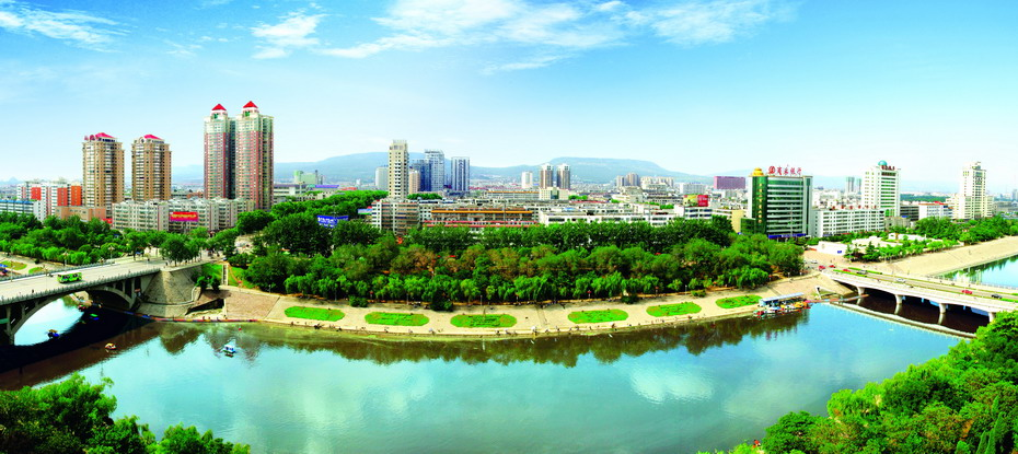 Pingdingshan China  city photo : overview of pingdingshan henan province pingdingshan city located in ...