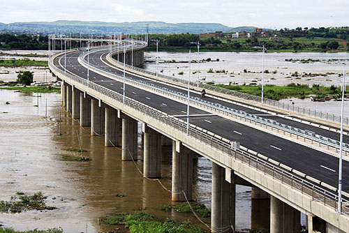 Image result for Bamako bridge