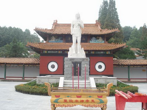 Suizhou China  City new picture : Hometown of Emperor Yandi Shennong