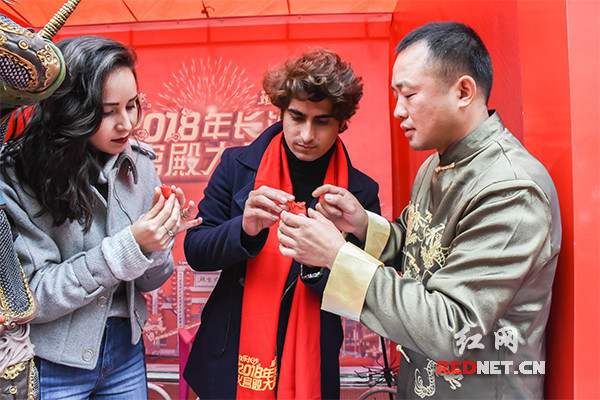 Spring Festival activities staged in Changsha