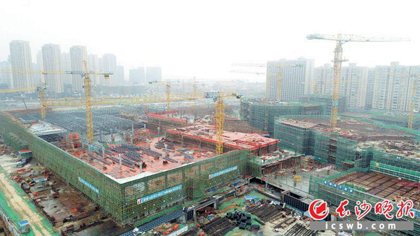 World's first Ikea complex under construction in Changsha