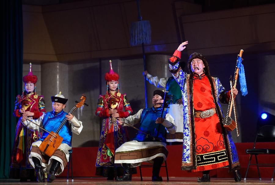 4th Chinese ethnic groups opera show opens in Beijing